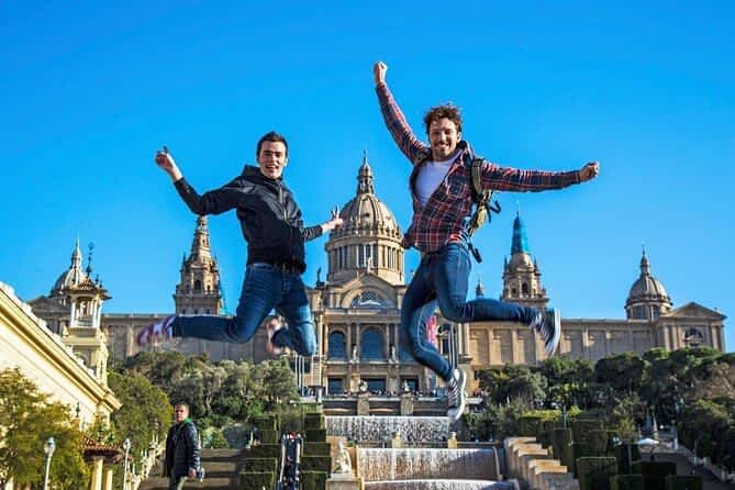 ¡Final de sus fantásticas vacaciones en Barcelona!
