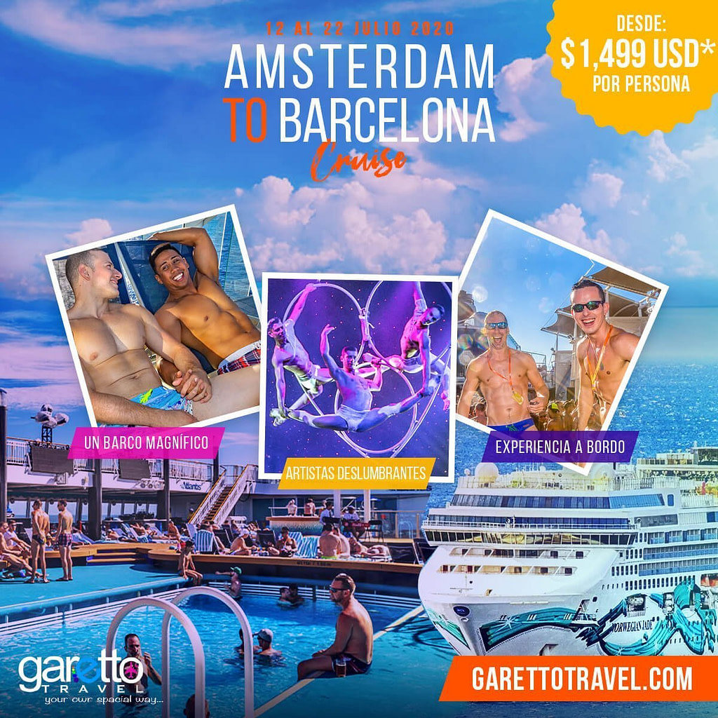 Amsterdam to Barcelona Cruise Garetto Travel