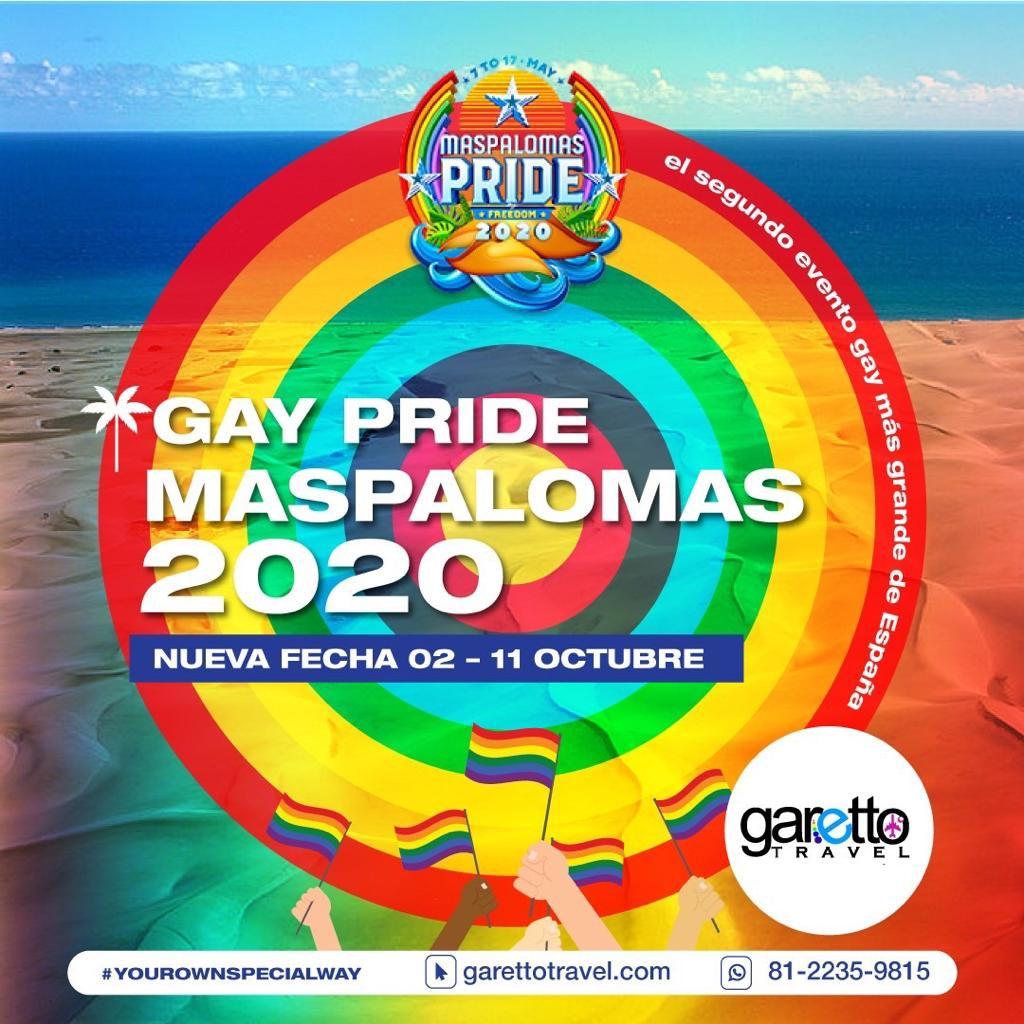 Gay Pride Maspalomas 2020